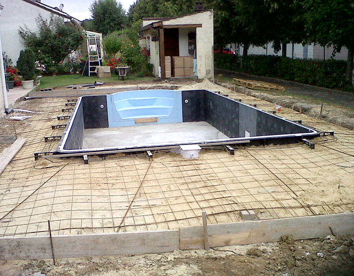 piscine coffrage